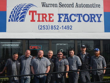 Warren Secord Automotive Kent, WA staff group photo